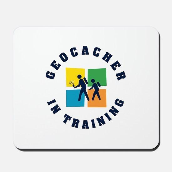 Geocacher in Training Mousepad