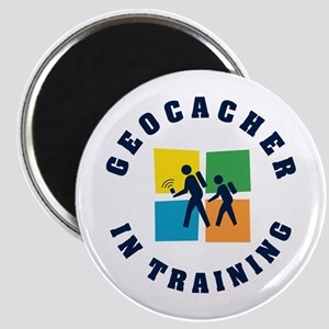 Geocacher in Training Magnet