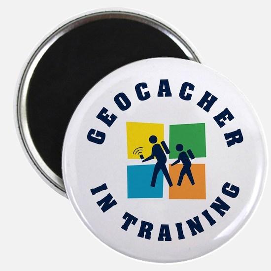 Geocacher in Training Magnet