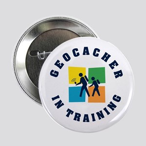 Geocacher in Training Button