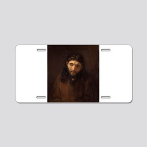 Christ - Rembrandt - c1648 Aluminum License Plate