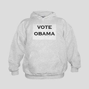 Vote Obama Kids Hoodie
