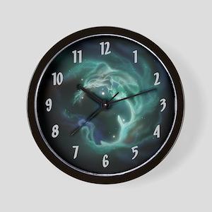 Luminous Galaxy Wall Clock