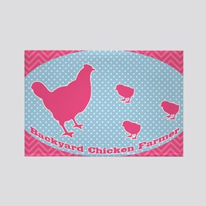 sticker-chick-3 Rectangle Magnet