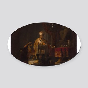 Daniel and Cyrus before the Idol Bel - Rembrandt -