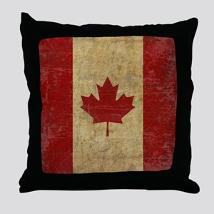 VintageCanadaSC1 Throw Pillow