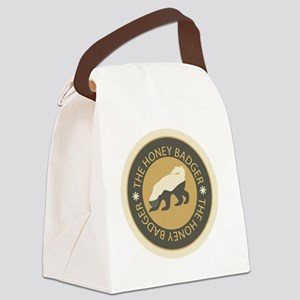 honeybadgerfinalplain Canvas Lunch Bag