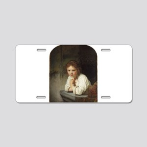 Girl at a Window - Rembrandt - c1645 Aluminum Lice