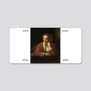Girl at a Window - Rembrandt - c1651 Aluminum Lice