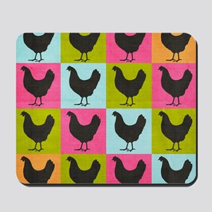 poster-chickenpopart Mousepad