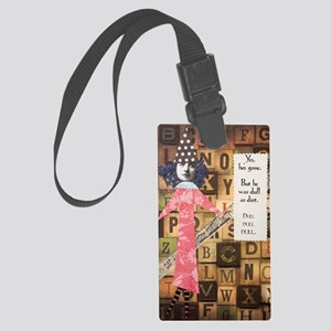 Dull Large Luggage Tag