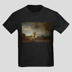 Landscape with a Stone Bridge - Rembrandt - c1638