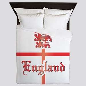 England COA 2 Clock Queen Duvet