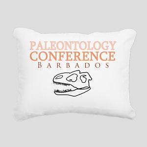 Friends paleontology lig Rectangular Canvas Pillow