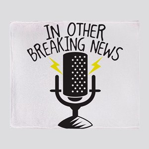 In other Breaking news! with radio announcement Th