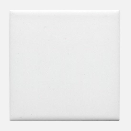 GUN HOLSTERS white Tile Coaster