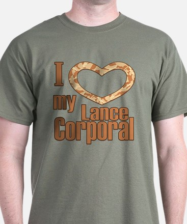 I Love My Lance Corporal T-Shirt