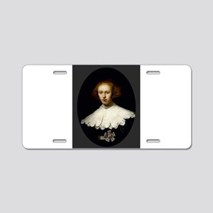 Portrait of a Young Woman - Rembrandt - c1633 Alum