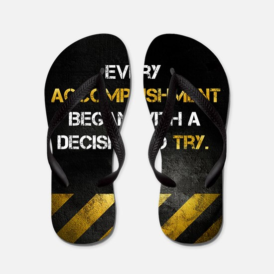 Decision to Try Flip Flops