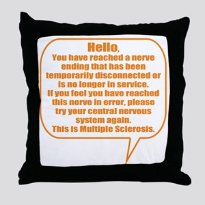 8x8 Hello Throw Pillow