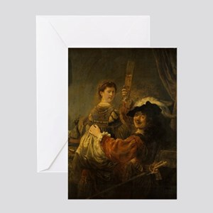 Rembrandt and Saskia in the parable of the Prodiga