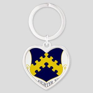 8th FW Heart Keychain