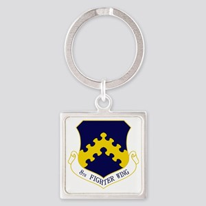 8th FW Square Keychain