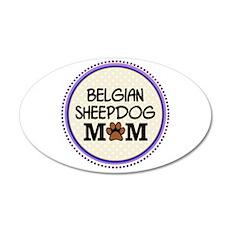 Belgian Sheepdog Mom Wall Decal