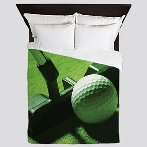 golf2 Queen Duvet