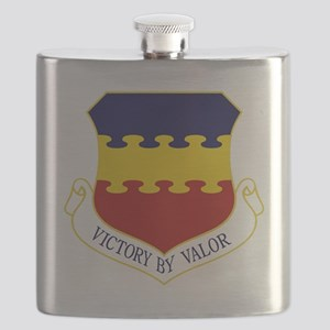 20th FW - Victory By Valor Flask