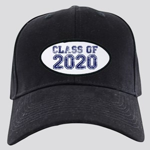 Class of 2020 Black Cap with Patch