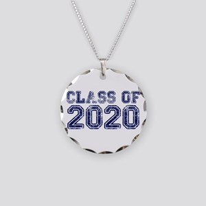 Class of 2020 Necklace Circle Charm