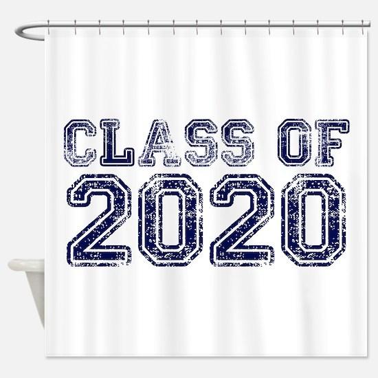 Class of 2020 Shower Curtain