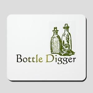 Bottle Digger Mousepad