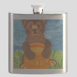 puzzleHoneyBear Flask