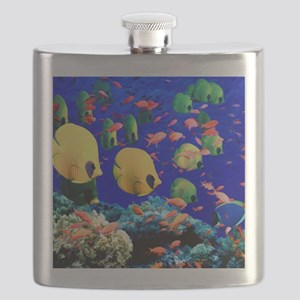 Under Sea Coral  Tropical Fish Shower Flask