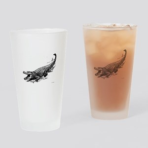 Alligator Stickers Clothing Accesso Drinking Glass