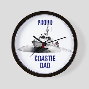 USCG Boat Dad Wall Clock