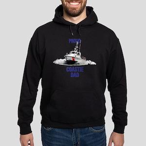 USCG Boat Dad Hoodie (dark)
