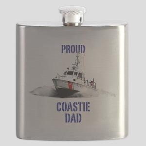 USCG Boat Dad Flask