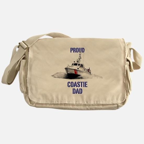 USCG Boat Dad Messenger Bag