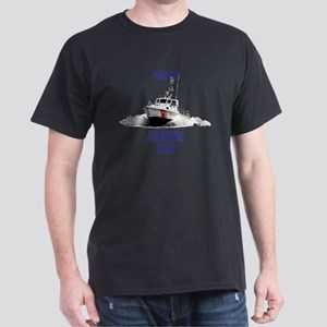 USCG Boat Dad Mug Dark T-Shirt