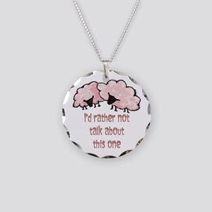 Pink Sheep 1 Necklace Circle Charm