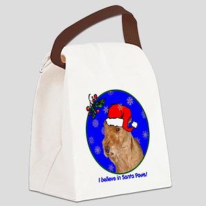 welshterrierxmas-shirt Canvas Lunch Bag