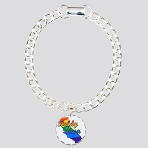 Baldy Mesa Charm Bracelet, One Charm