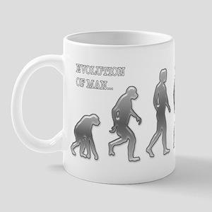 BODYBUILDING EVOLUTION Mug