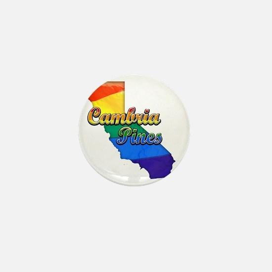 Cambria Pines Mini Button