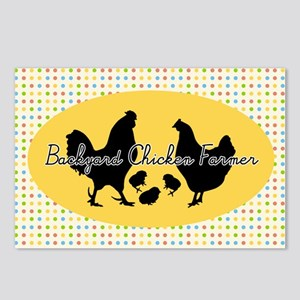 stick-chick-5 Postcards (Package of 8)