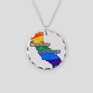Casitas Springs Necklace Circle Charm