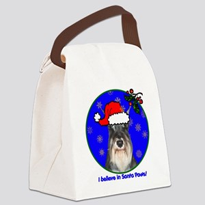 schnauzerxmas-shirt Canvas Lunch Bag